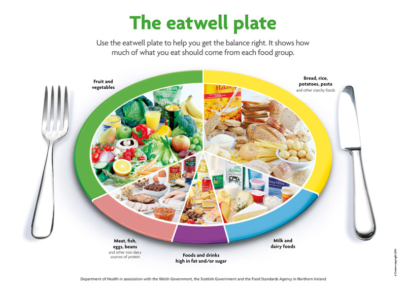 The UK Department of Health's Eatwell Plate